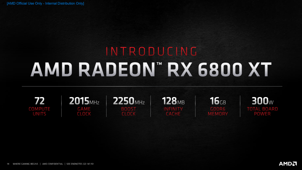 AMD Radeon RX 6800 XT Graphics Card