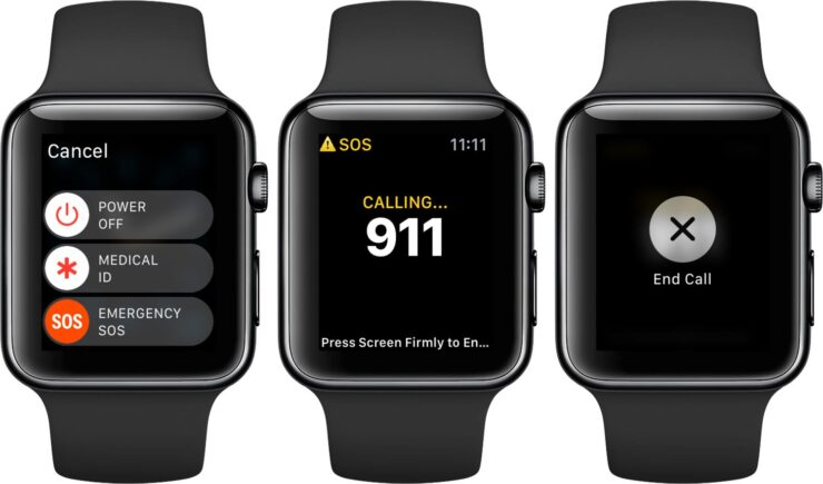 Apple Watch SOS Feature Helps Wearer Inform Authorities and Family About Being in a Car Accident by Sending His Exact Location
