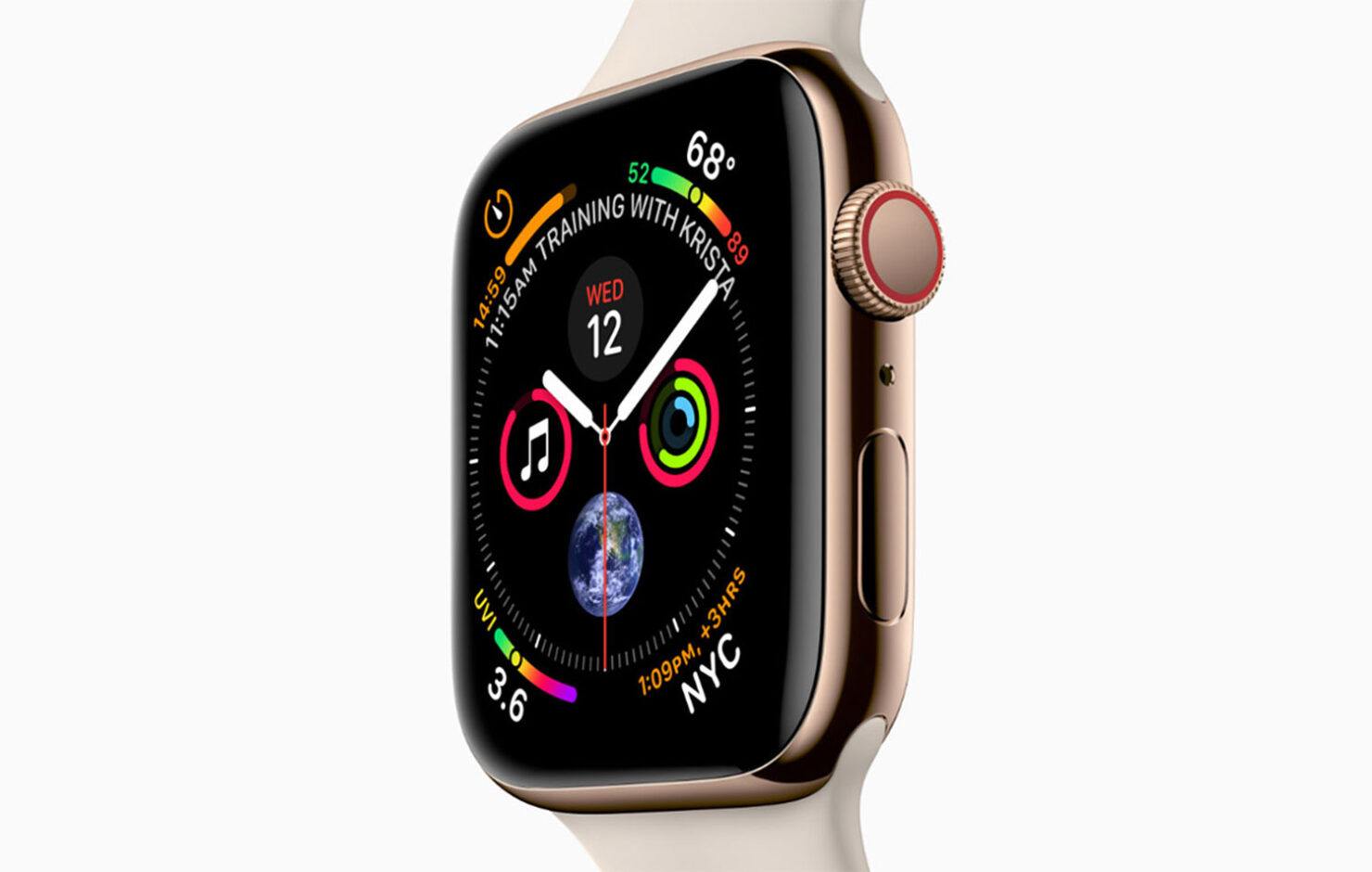 Apple Watch Sporting an iPhone-Like Notch at the Top With iOS Apps and Widgets Shown in This Latest Concept