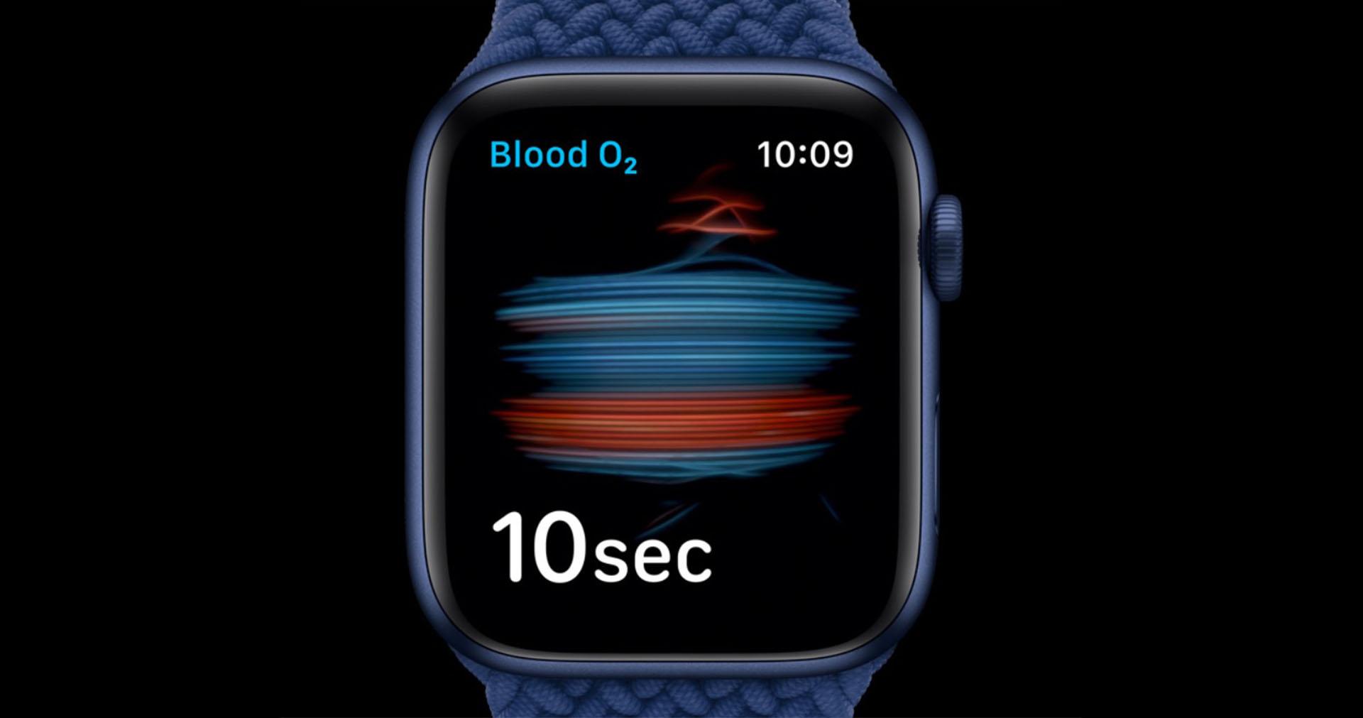 O2 Apple Watch 4