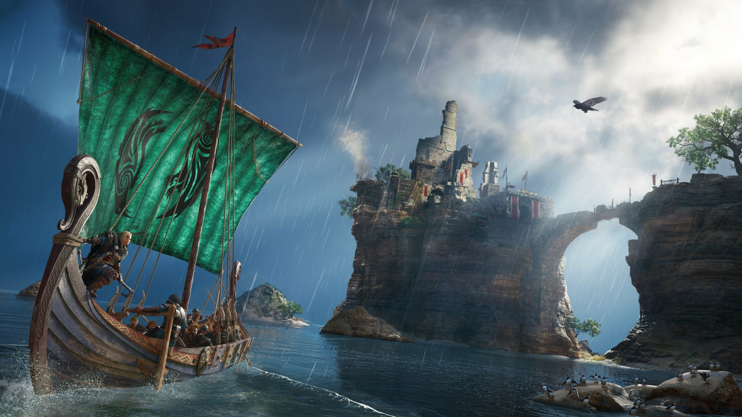 Assassin S Creed Valhalla New Video Provides New Look At Major Cities Raid Loops Jomsvikings New Details And More