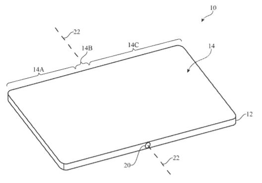 foldable iPhone display