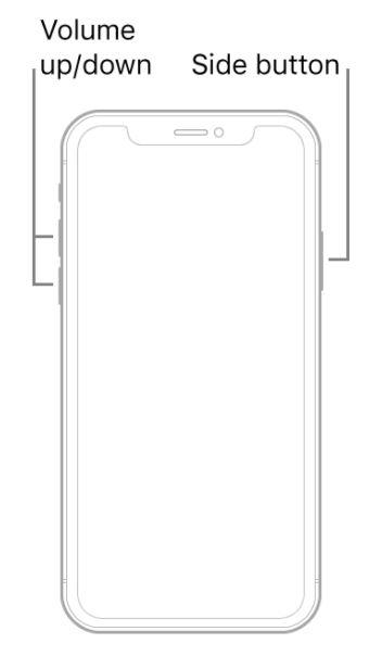 Force Restart iPhone 12 Pro