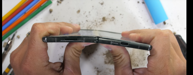 Galaxy Z Fold 2 Won't Bend Like an iPhone But it Will Still Scratch