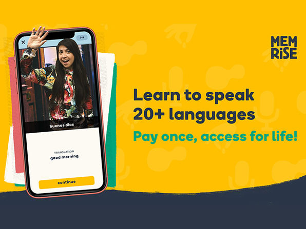 Memrise Language Learning Lifetime Subscription