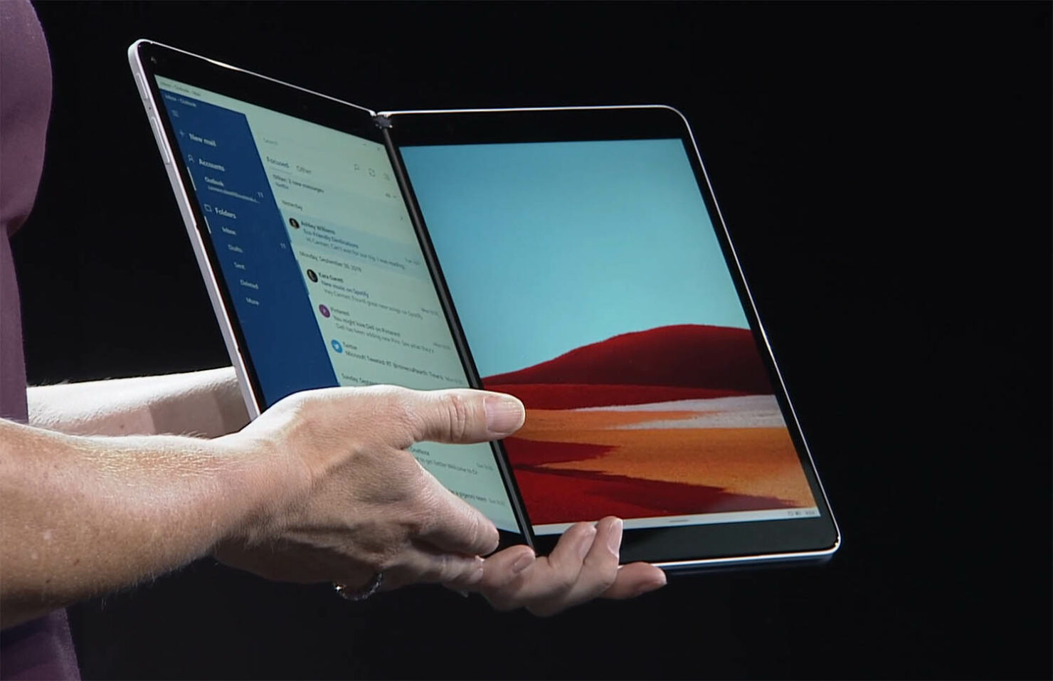 Microsoft Has Delayed Development on the Surface Neo, Giving Rise to Rumors That the Dual-Screen Device May Be Scrapped