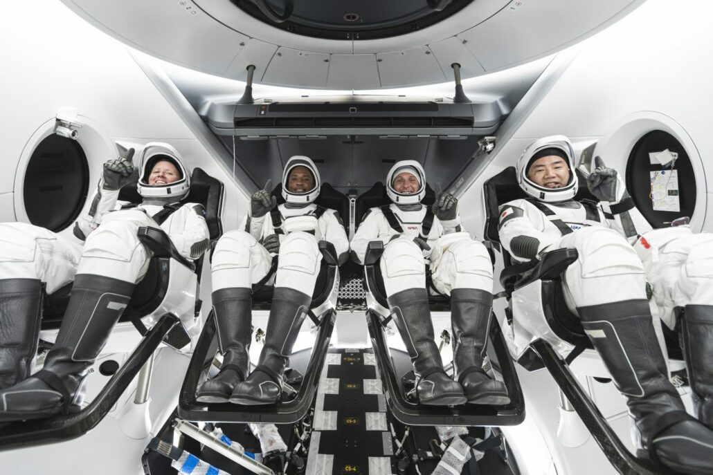 SpaceX NASA Crew 1 Crew Dragon Training Mission Control