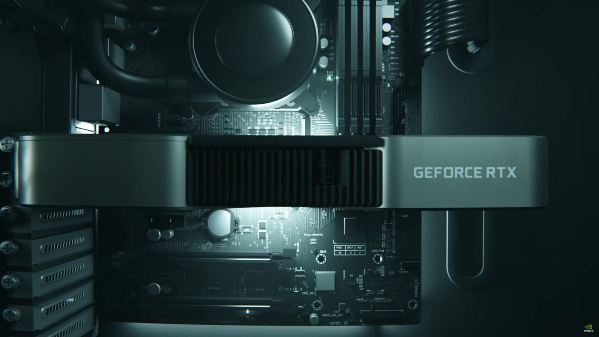 NVIDIA GeForce RTX 3060 Ti Official Performance Benchmarks Bocor, Lebih Cepat dari RTX 2080 SUPER dalam Gaming, Ray Tracing & Creation