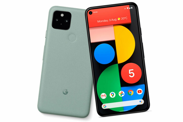 Google Pixel 5 Uses an in-Screen Front-Facing Speaker at the Top, According to Leaked Hardware Diagram