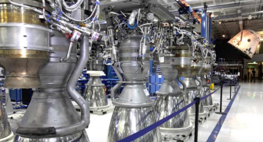 SpaceX Merlin 1D gas generator