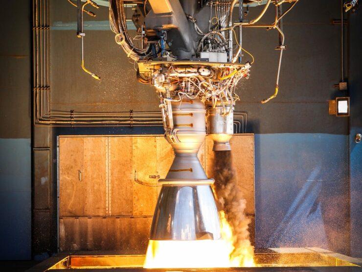 Merlin 1D gas generator