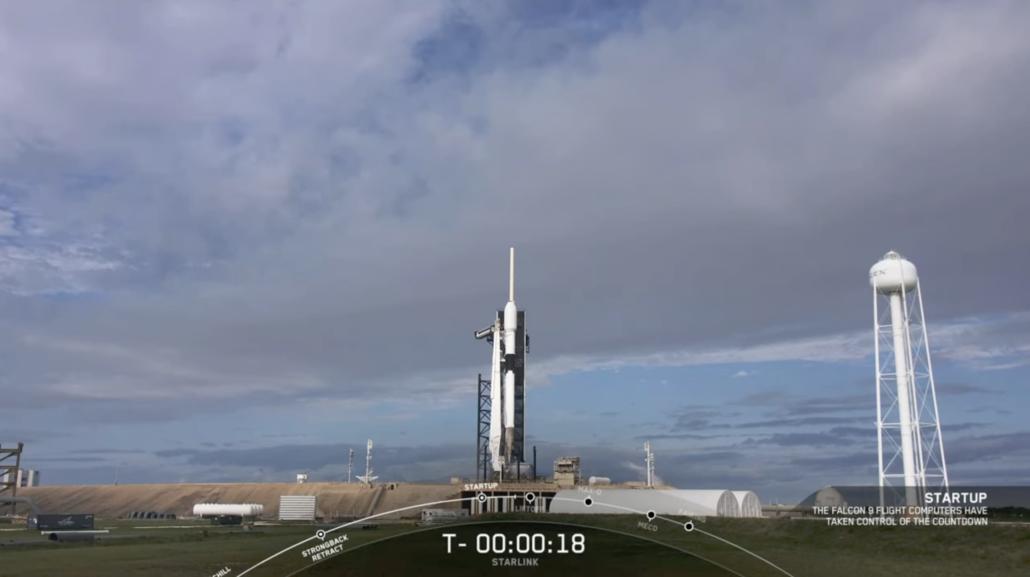 SpaceX Starlink launch abort