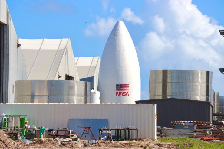 SpaceX Starship prototype NASA