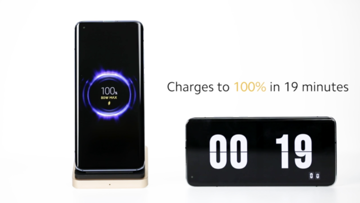 Xiaomi Showcases 80W Wireless Charging That Can Fill Up Your Phone Super Fast