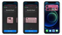 Spotify iOS 14 Widget