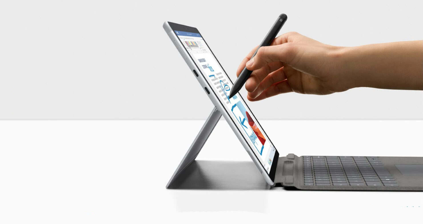 New Surface Pro X Now Touts an Upgraded SQ2 Chip, a New Platinum Color, and a Mammoth 15-Hour Battery Life