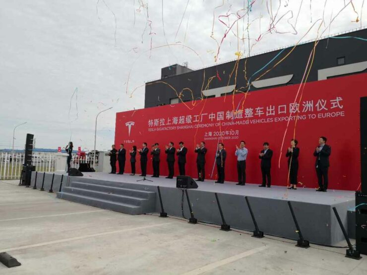 Tesla China Export Model 3