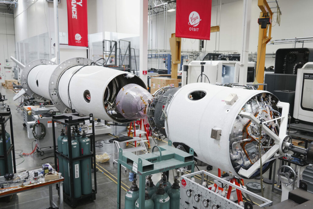 VIRGIN ORBIT LAUNCHER ONE ROCKET