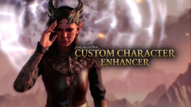 baldur's gate 3 mod custom character enhancer