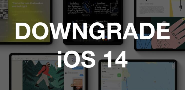 iOS 14 Downgrade