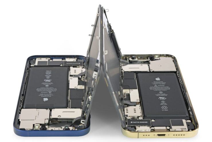 iPhone 12, iPhone 12 Pro Teardown From iFixit Shows Same Display and Batteries That Can Be Swapped With One Another