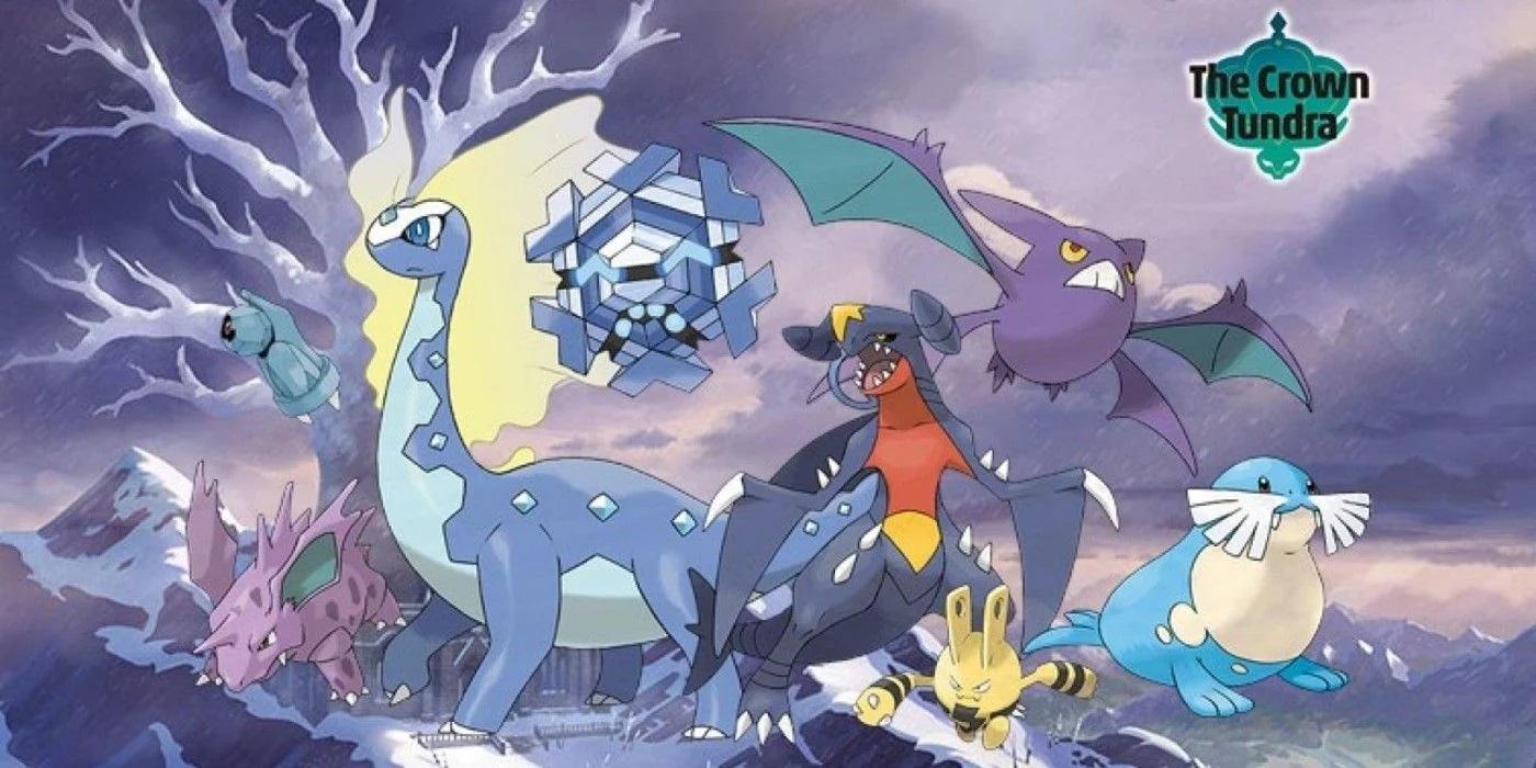 pokemon sword and shield update 1.3 crown tundra dlc2