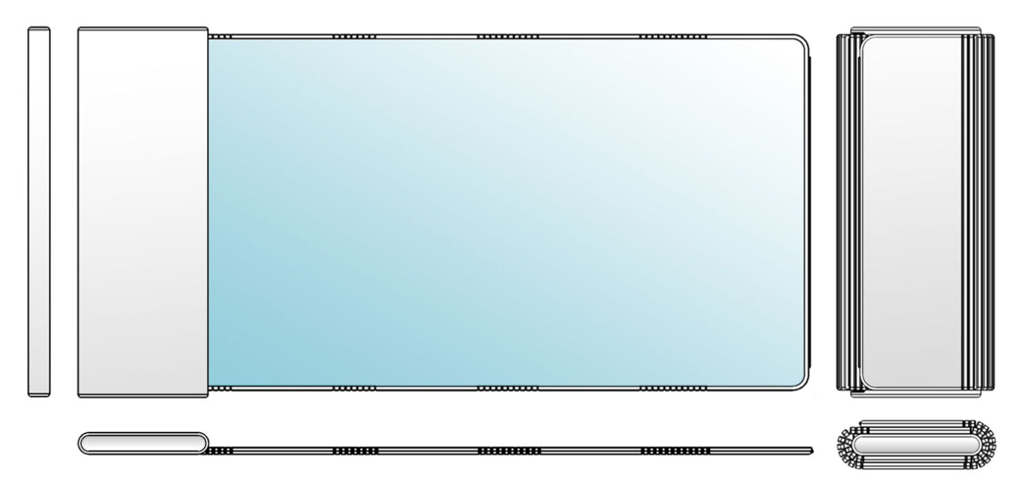 First Rollable Smartphone Prototype Isn't From Samsung but It Can Extend Its Display to 6.7 Inches