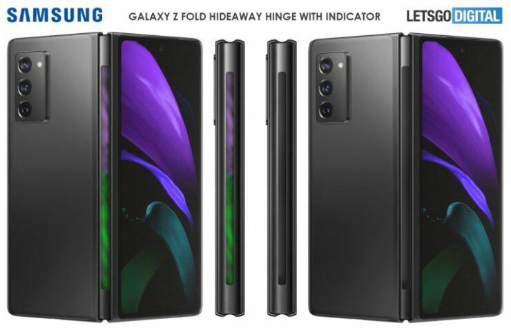 Galaxy Z Fold 3 Might Features a Lightbar in the Hinge