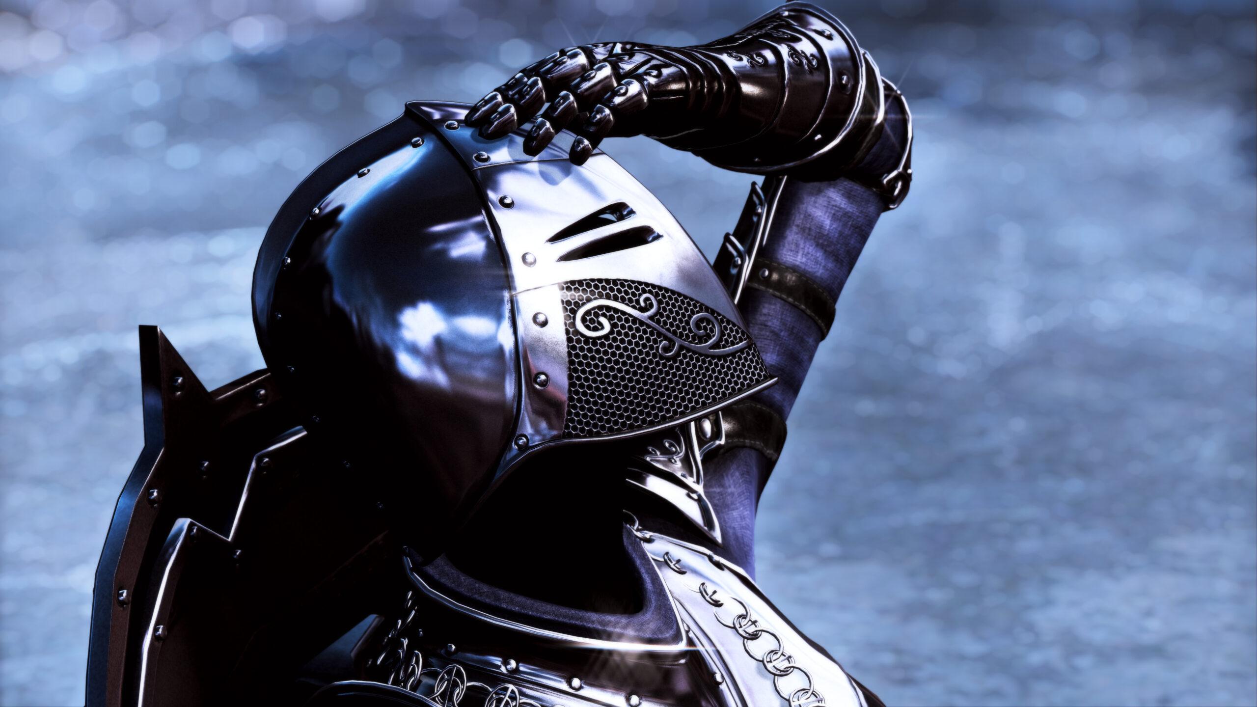 New The Elder Scrolls V Skyrim Dark Knight Mod Introduces Impressive Looking Ebony Armor And Shield Dragon knight armor by hothtrooper44 thanks for watching! new the elder scrolls v skyrim dark