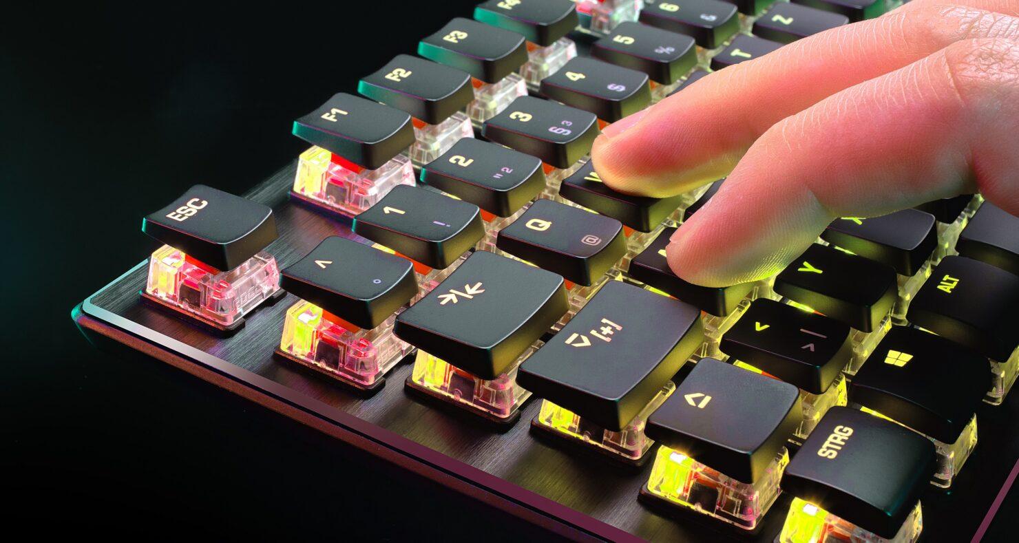 teclado Roccat Vulcan TKL Pro