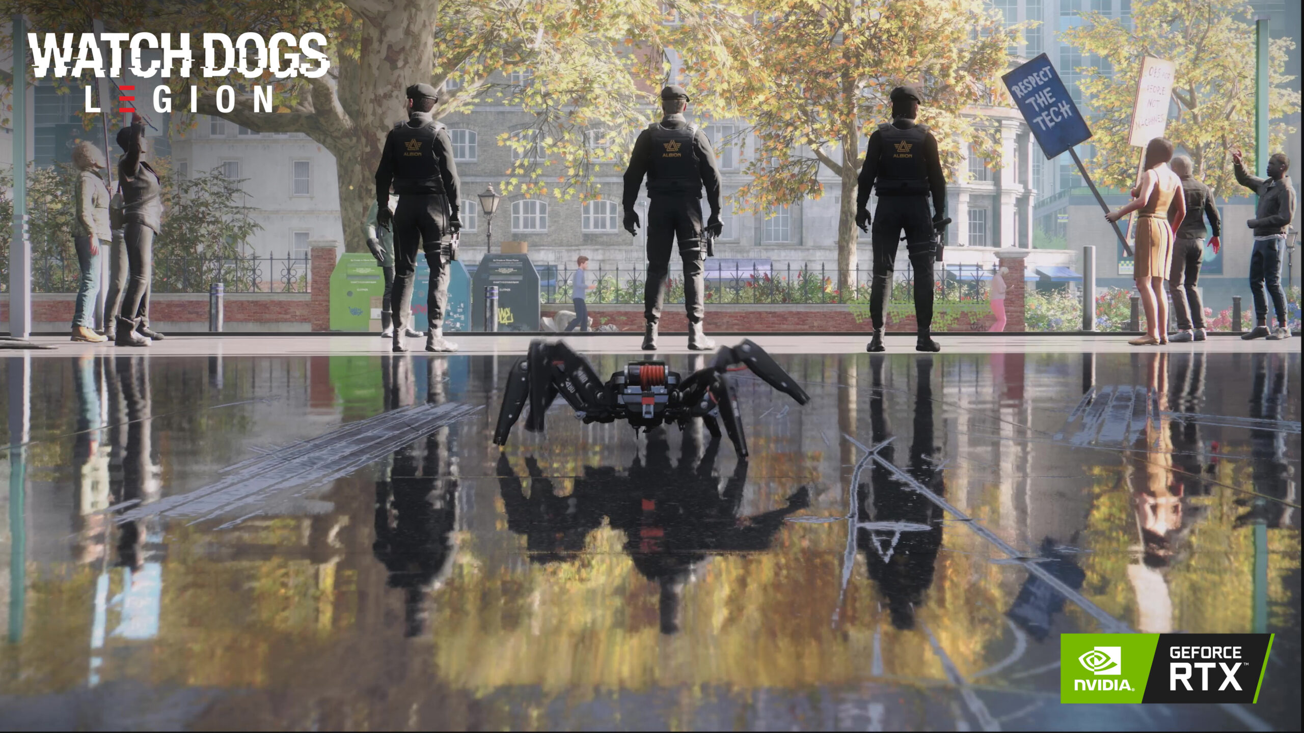 Watch Dogs Legion Raytraced Reflections Actually Require Rtx 3080 Gpu And Dlss Performance Mode At 4k Ultra