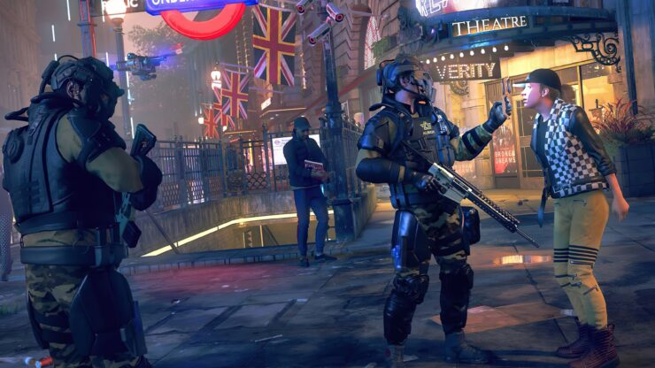 Watch Dogs Legion Xbox Series S Ray Tracing