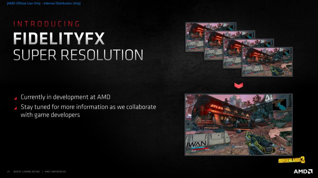 AMD Confirms That FidelityFX Super Resolution 'FSR', Its NVIDIA DLSS Competitor