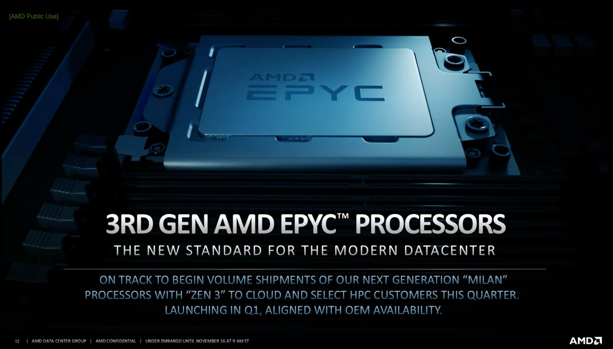Spesifikasi & Benchmarks AMD 3rd Gen EPYC Milan CPU Bocor, Hingga 64 Core & 280W TDP