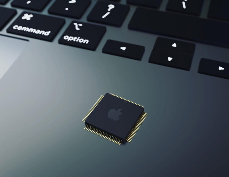 The New Apple Silicon MacBook Pro Concept Shows iPad Pro-Like Rounded Corners Coupled With Slim Bezels and a Compact Chassis