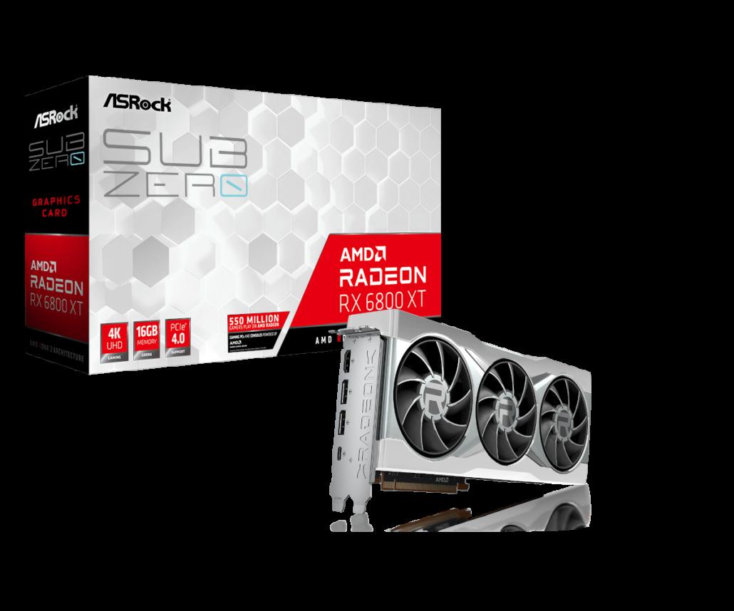 ASRock Radeon RX 6800 XT Sub Zero Graphics Card