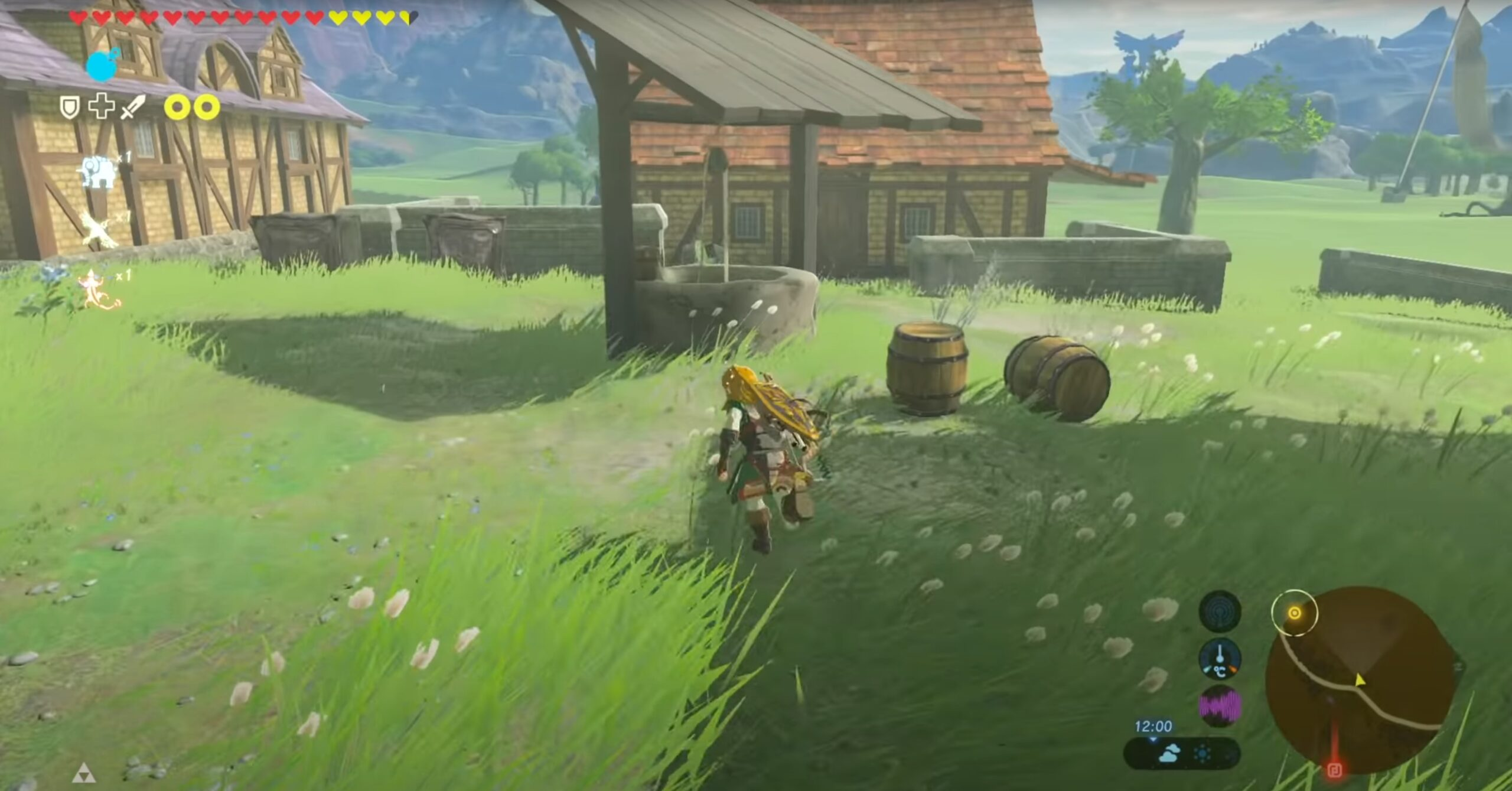 Zelda Breath Of The Wild New Mod Rebuilds Hyrule With Age Of Calamity Content