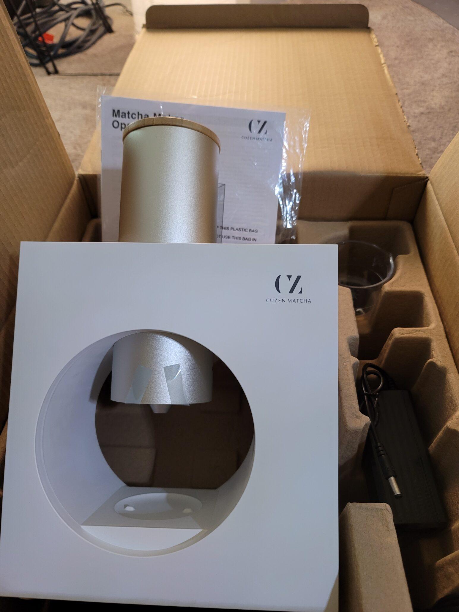 cuzen-matcha-unboxed