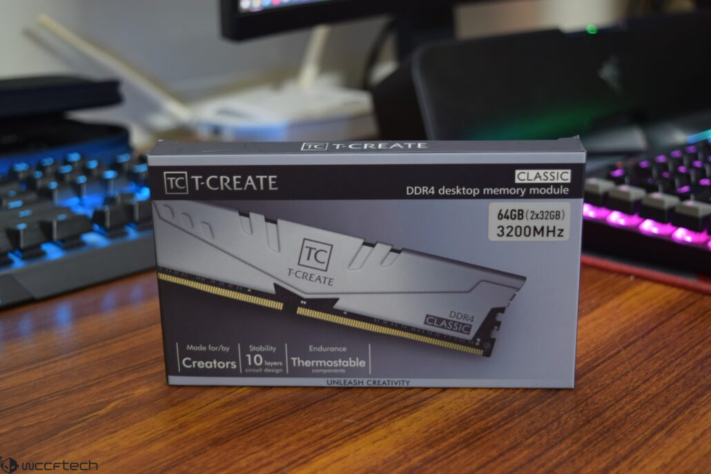 Teamgroup T-Create 64 GB (2 x 32 GB) 3200 MHz CL22 DDR4 Memory Kit Review _1