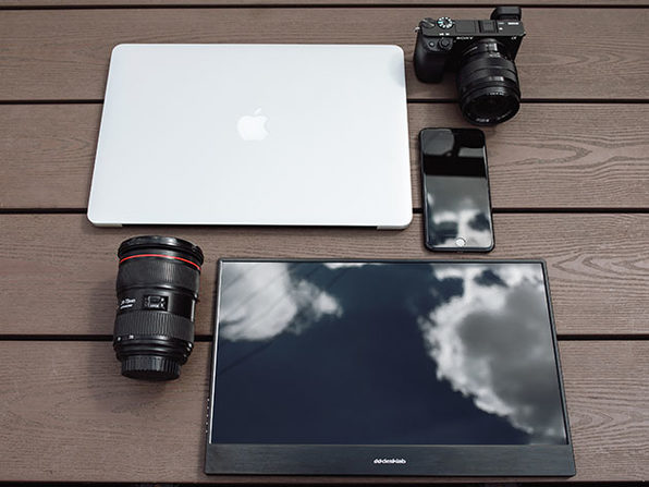 Desklab Portable Touchscreen Monitor