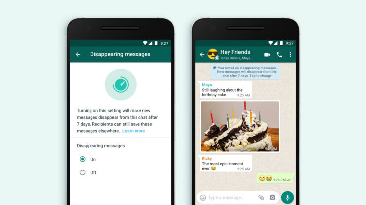 WhatsApp Will Roll Out the Disappearing Messages Feature This Month