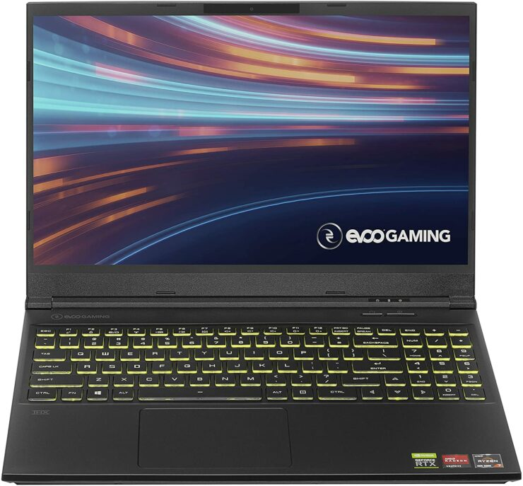 The EVOO Gaming Laptop With Ryzen 7 4800H, RTX 2060, 144Hz Display and More Is $179 Cheaper for Black Friday 2020
