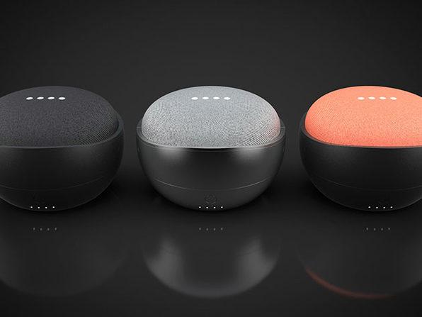 JOT Battery Base for Google Home Mini