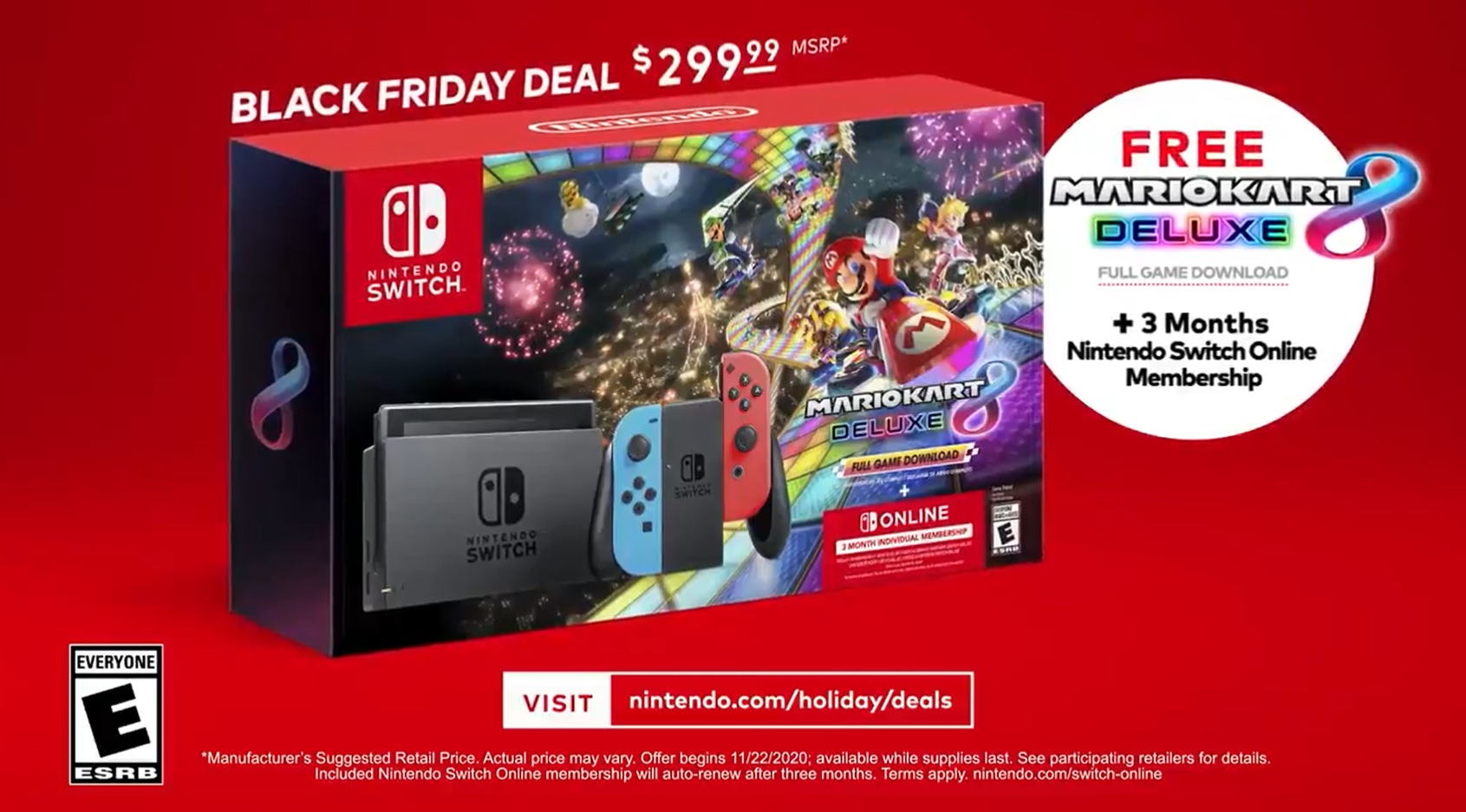Nintendo S Black Friday 2020 Deals Make Their Return This Year