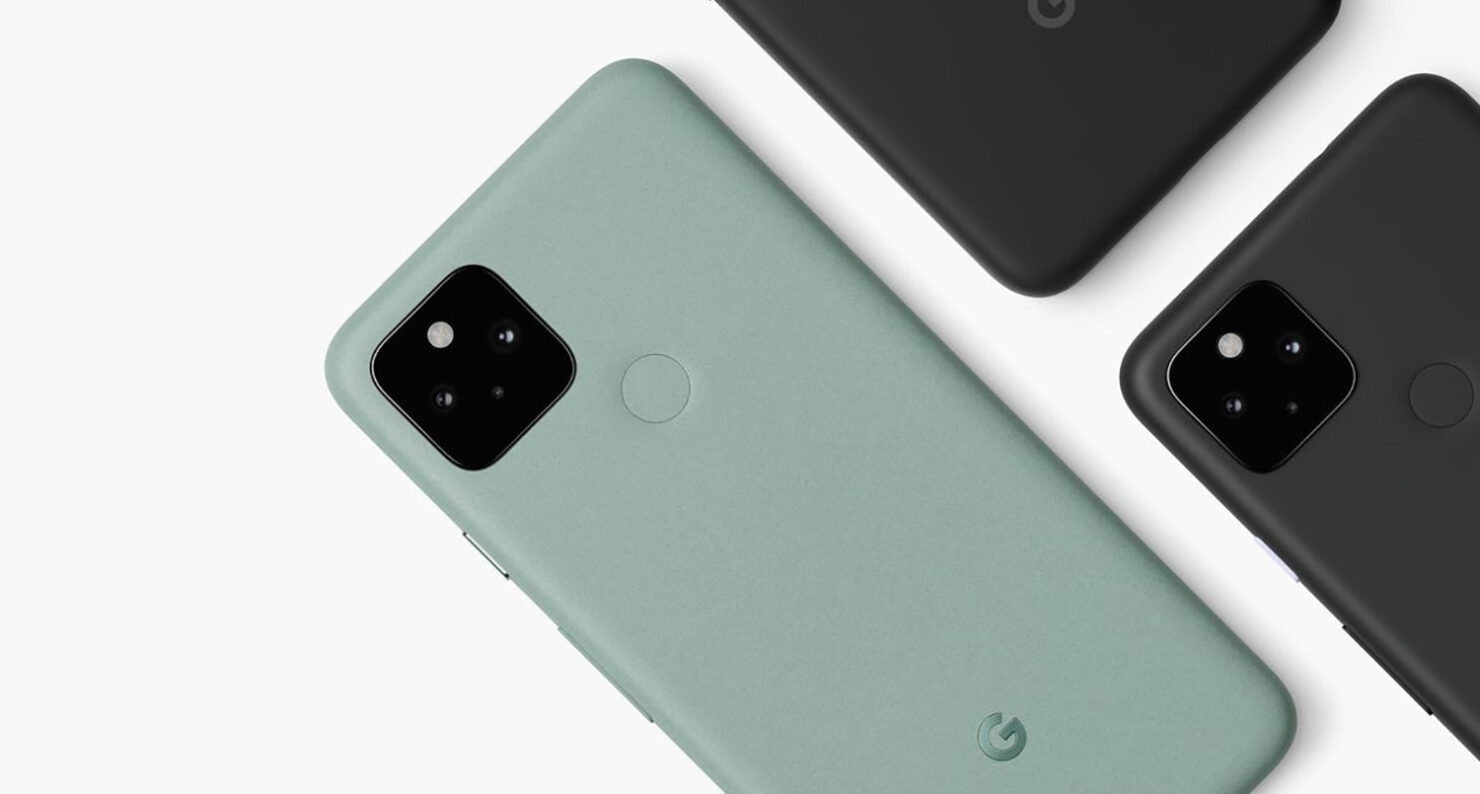 Google Says the Gap Between Display and Body on the Pixel 5 Is Intentional and Part of the Design