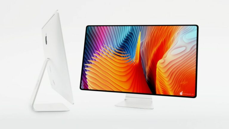 Redesigned 2021 iMac With Super-Slim Bezels and Two ...