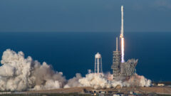 SpaceX Falcon 9 re-use first time