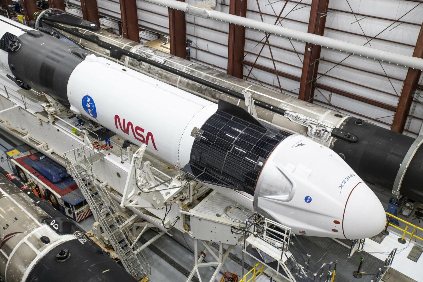 Spacex NASA Falcon 9 Crew Dragon Crew-1