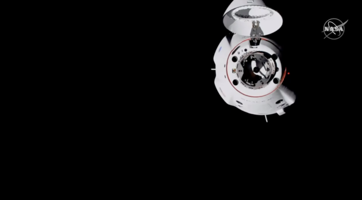 SpaceX Crew Dragon 20 Meters ISS