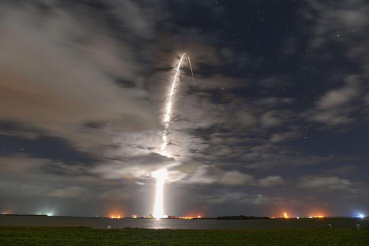 SpaceX Starlink satellite launch